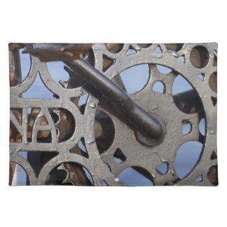 Bicycle detail placemat
