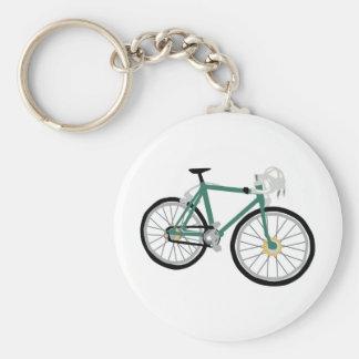 Bicycle drawing key ring