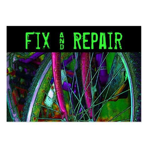 Bicycle  Fix & Repair business card