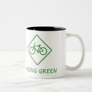 Bicycle - Going Green Mug