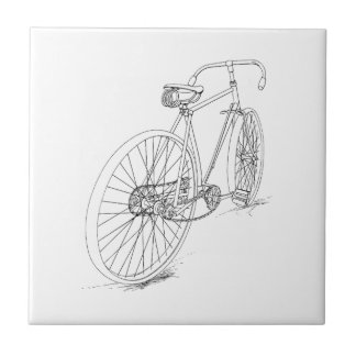 Bicycle Graphic Tile