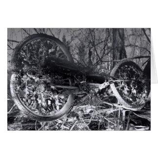 Bicycle heaven greetings card