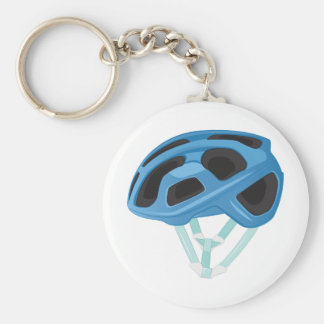 Bicycle Helmet Key Ring