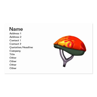 Bicycle Helmet Pack Of Standard Business Cards