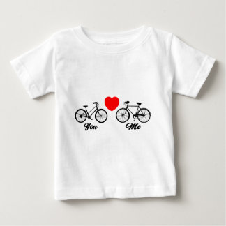 Bicycle I Love You Baby T-Shirt