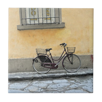 Bicycle in Florence Ceramic Tile