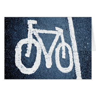 Bicycle Lane Card