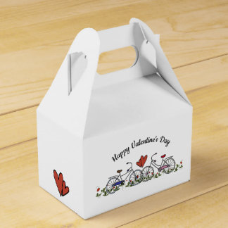 Bicycle Lovers Valentine Favour Box