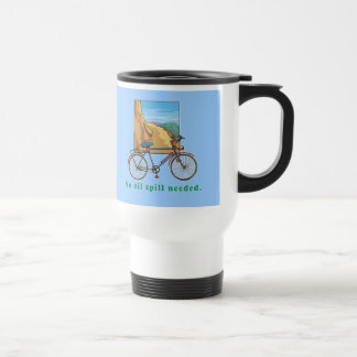 Bicycle No Oil Spill Needed Tshirts and Mugs