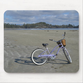Bicycle on the Beach Mouse Pad