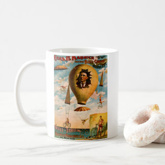 Bicycle Parachute Act 1896 Coffee Mug