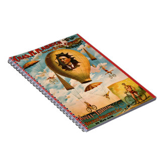 Bicycle Parachute Act 1896 Notebooks