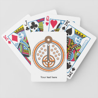 Bicycle Parts Illustration Bicycle Playing Cards