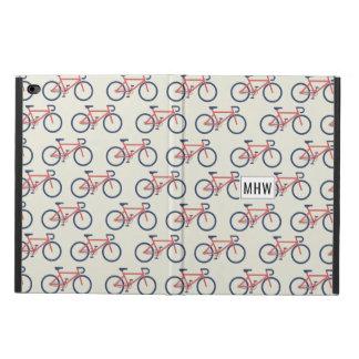 Bicycle Pattern custom monogram device covers