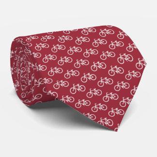 Bicycle Pattern Tie