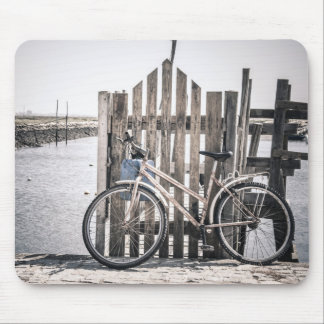 Bicycle photo mouse mat