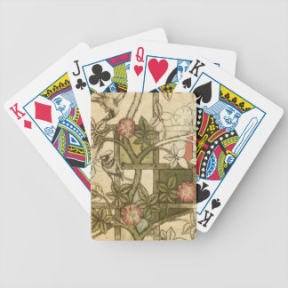 Bicycle Poker Cards with Trellis Design