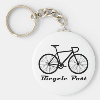 Bicycle Post Key Ring