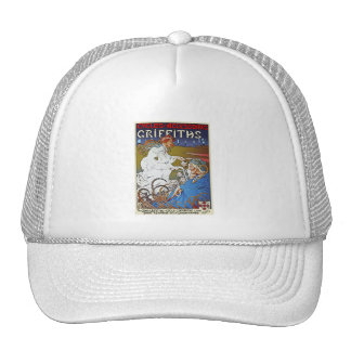 Bicycle Poster Advertisement: Griffiths Cycles Cap