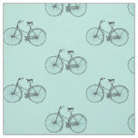 Bicycle Print Fabric