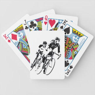 Bicycle Racers into the Turn Bicycle Playing Cards