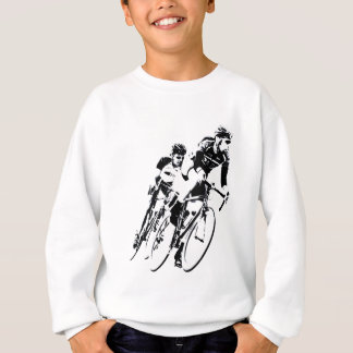 Bicycle Racers into the Turn Sweatshirt