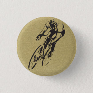 Bicycle Racing 3 Cm Round Badge