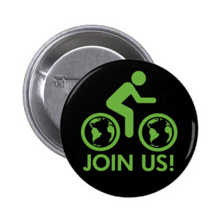 Bicycle Recycle Green Join Buttons
