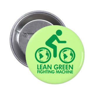 Bicycle Recycle Green Pin