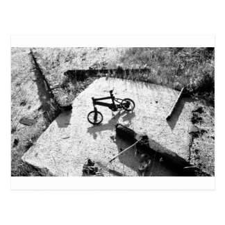 Bicycle Remains Postcard
