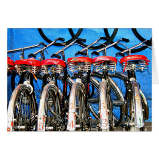 Bicycle Rentals, Blue City Card