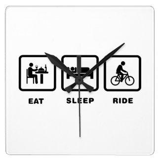 Bicycle Rider Wallclock