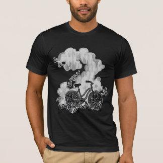 Bicycle riding through Clouds Shirt (TBA 9/3/12)