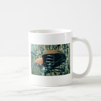 Bicycle Saddle Coffee Mug