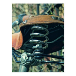 Bicycle Saddle Postcard