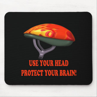 Bicycle Safety Mouse Pad
