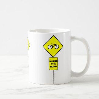 Bicycle Share The Road Mug