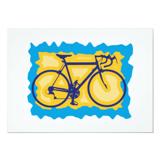 Bicycle Stamp Invitations