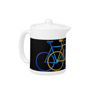 Bicycle Teapot