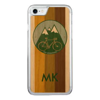 bicycle . two-wheels . bike . cool carved iPhone 8/7 case