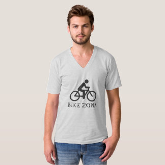 Bicycle V-Neck T-Shirt