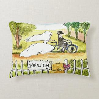 Bicycle Wedding Pillow