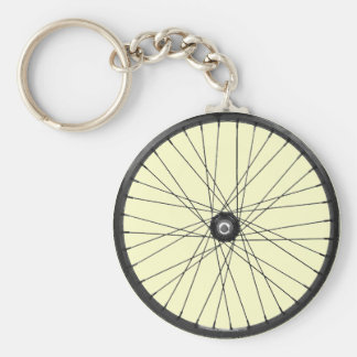 bicycle wire wheel key ring