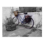 Bicycle with basket - Isle of Mull Postcard