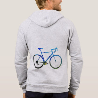 Bicycle with view  Men's Cali Fleece Hoodie