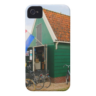 Bicycles, Dutch windmill village, Holland Case-Mate iPhone 4 Case