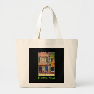 Bicycles of Burano Italy Venice Tote Bag Purse