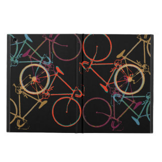 bicycles pattern sport design cover for iPad air