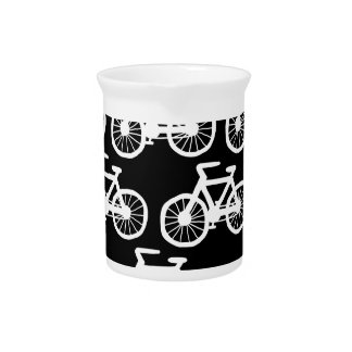Bicycles Pitcher