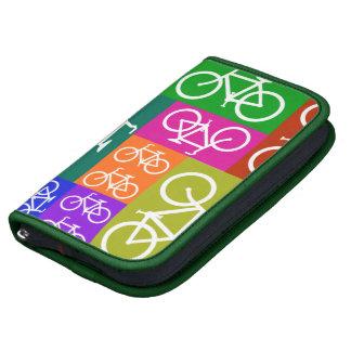 BICYCLES Pop Art Folio Planner Smartphone Holder
